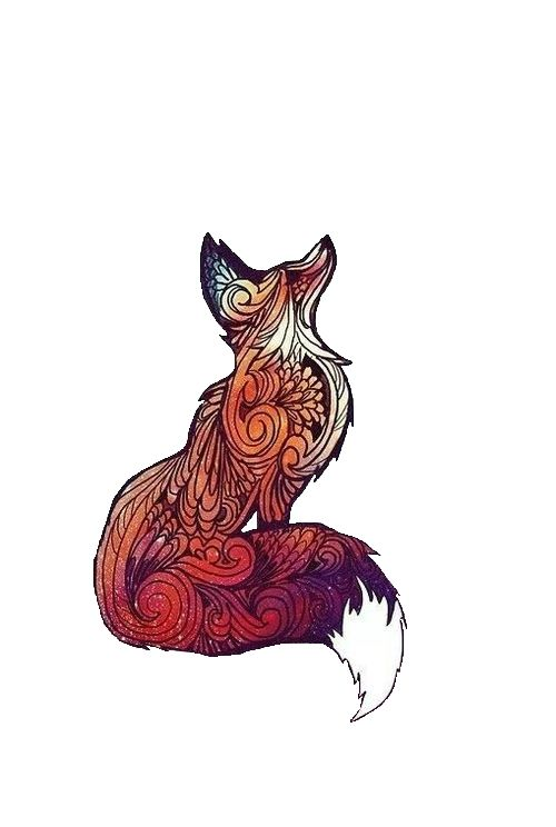 Cute Fox Tattoos For Women and Men