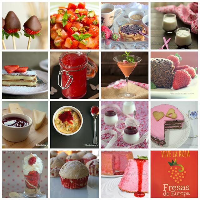 15 recetas con fresas