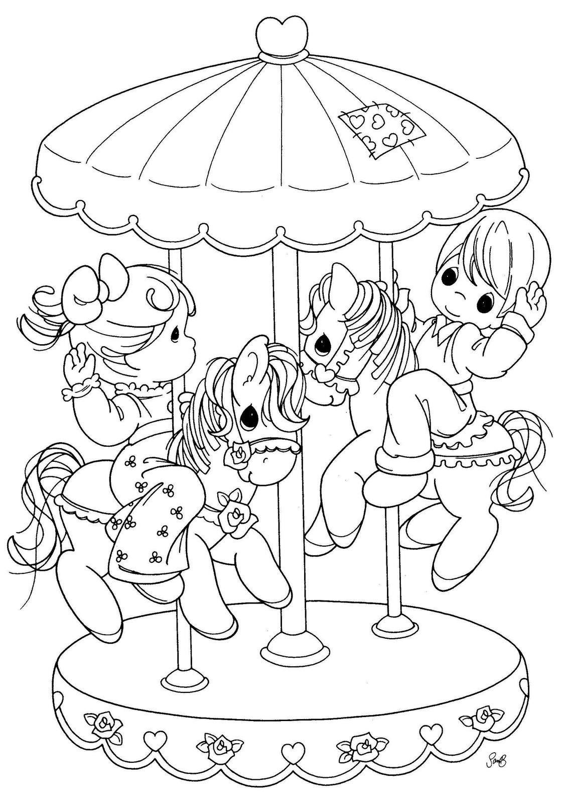 Images About Precious Moments Colouring Pages On