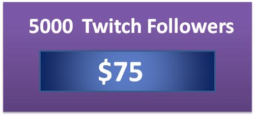 5000 buy twitch channel views, twitch followers bot