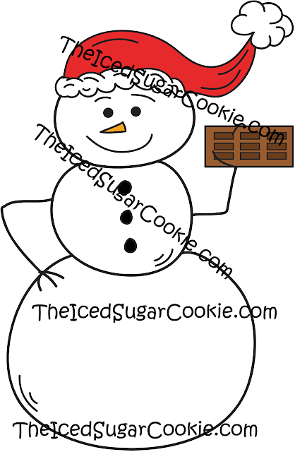 Snowman Planner Stickers, Printable Christmas Clipart, Digital Download, Scrapbooking, Card Making, Invitations