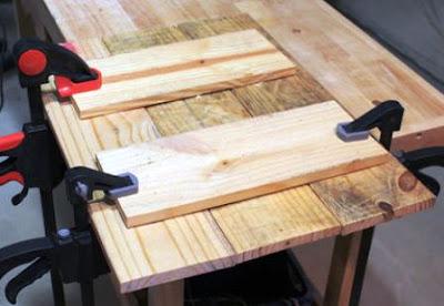 pembuatan papan lukis dari kayu palet
