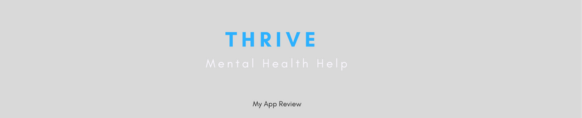 My Review of the Thrive App for Mobiles Banner