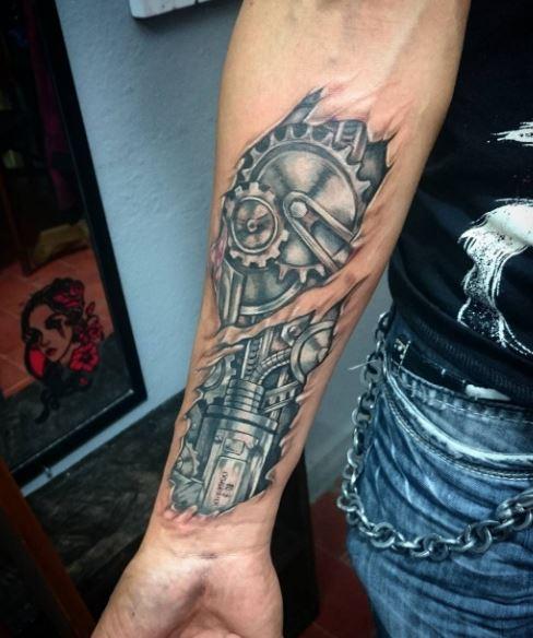 biomechanical Tattoos