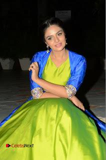 Telugu Cinema Actress Anchor Srimukhi Pictures at Rail Movie Audio Launch  0050
