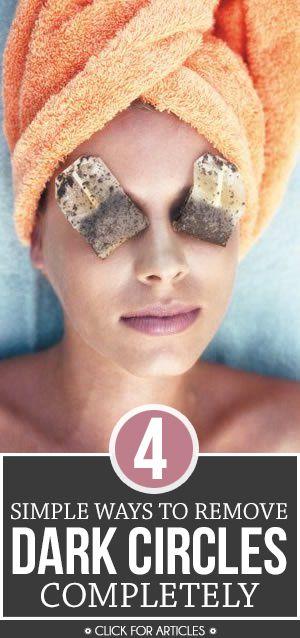 11 Home Remedies For Under Eye Dark Circles