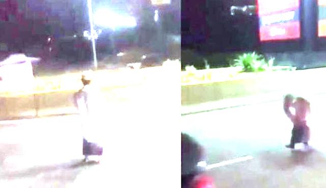 berita viral, sebuah video beredar di malaysia! pria salat di tengah jalan