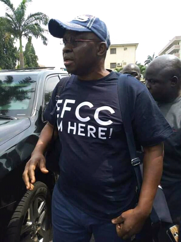 Charge Fayose To Court Or Release Him Unharmed, PDP-NMA Challenges @officialEFCC