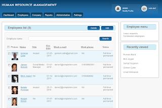 Simple HRM - Software gratuito para la administración de Recursos Humanos