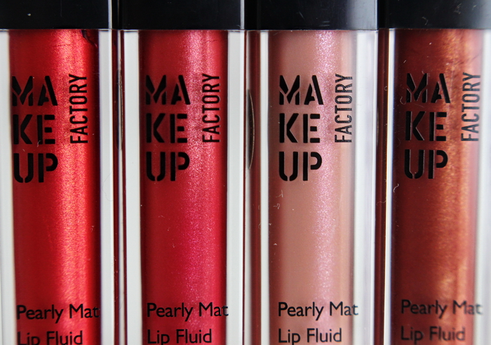 Makeup Factory pearly mat lip fluid