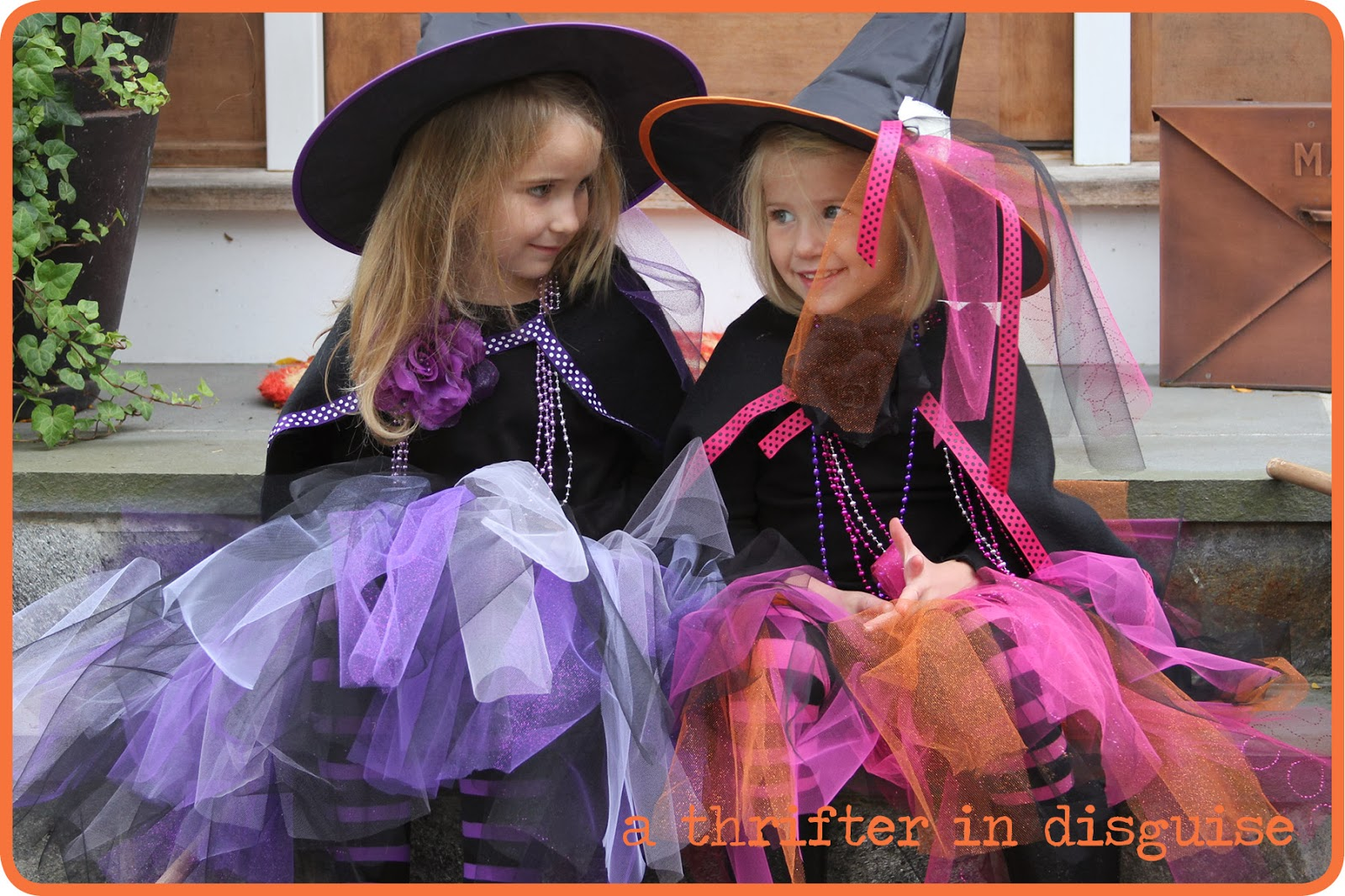 While this tutorial is originally meant to accompany a witch costume the materials and process can be used to make a tutu for any occasion princess ...  sc 1 st  A Thrifter in Disguise & A Thrifter in Disguise: Long u0026 Lovely DIY Tutus