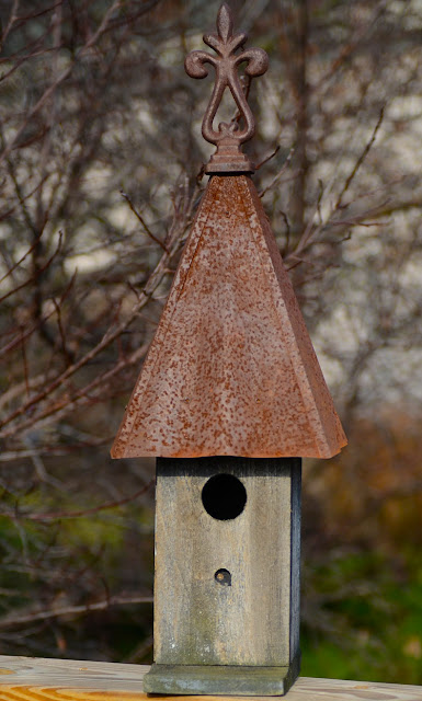 ...the model birdhouse for this year's Christmas card. I bought it at a Southern Living party years ago.