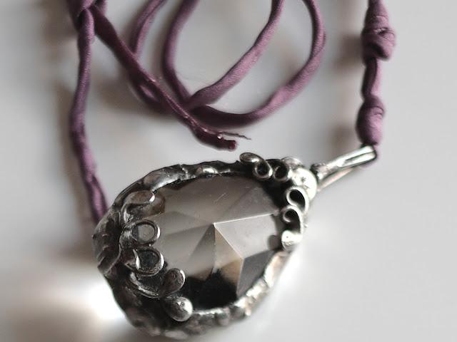Tiffany Technique Soldered Chandelier Crystal Pendant