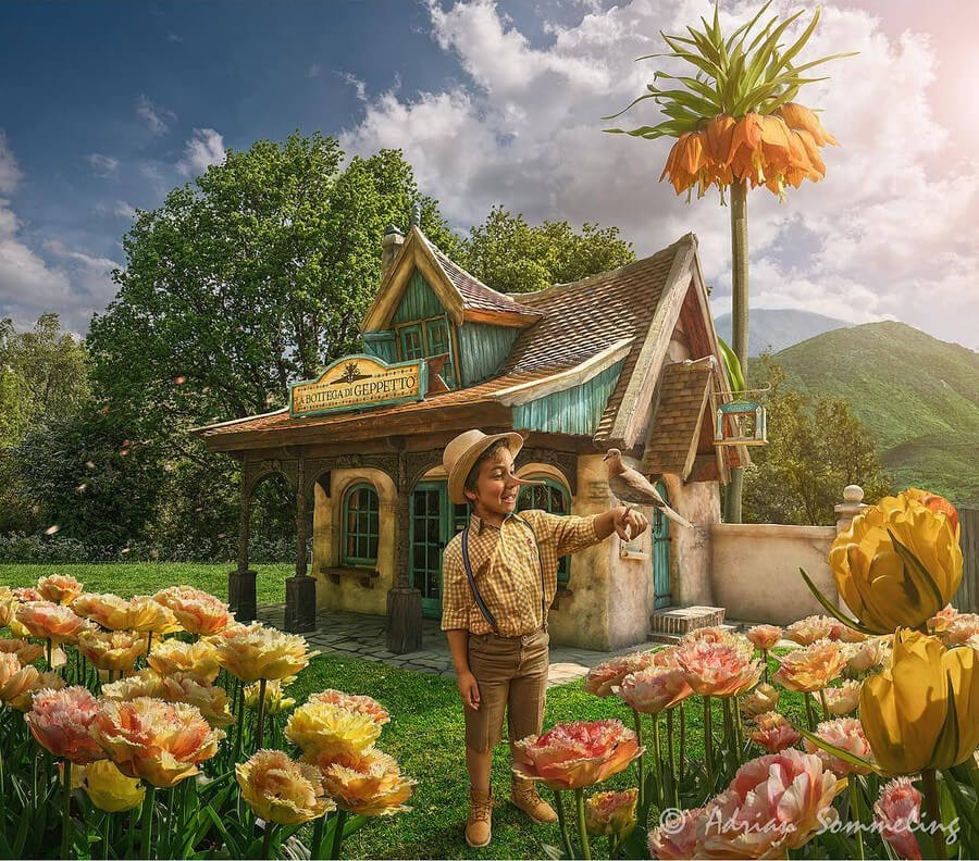 04-Pinocchio-s-day-off-Adrian-Sommeling-Digital-Art-www-designstack-co