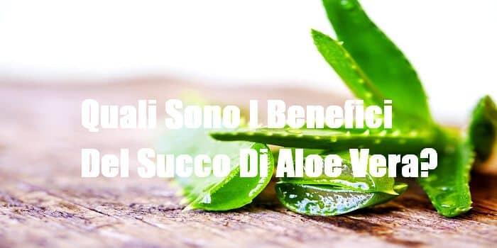 Succo Di Aloe Vera Benefici