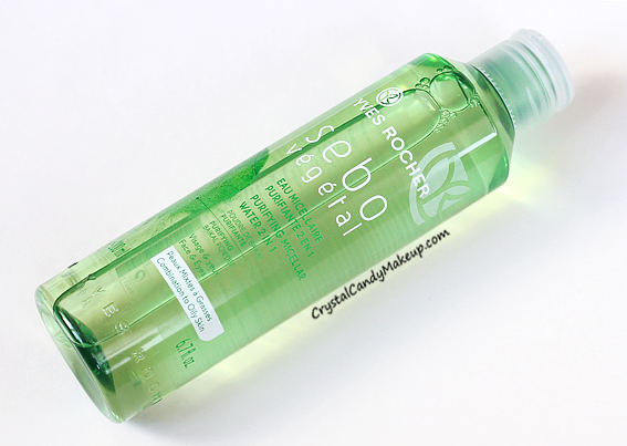 Yves Rocher Sebo Vegetal Purifying Micellar Water Review Photos