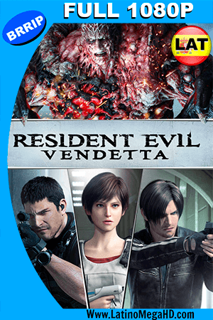 Resident Evil: Vendetta (2017) Latino FULL HD 1080P ()