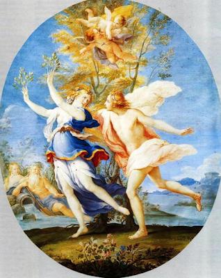 Apollo e Dafne (1698), Teresa del Po
