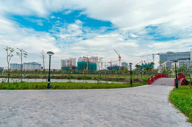 Hồ điều hòa An Bình City