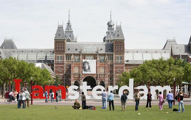 Letreiro de Amsterdã