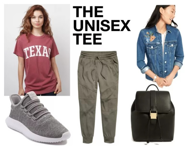 High School Costume Clothes: 1. The Unisex Tee