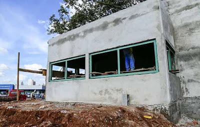 Construção da base de segurança da GCM de São Caetano do Sul segue em ritmo acelerado
