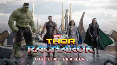Thor Ragnarok 2017 Dual Audio 300MB Hindi Dubbed Movie Download 400MB DVDCam