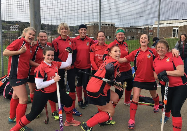 FitBits | Southwick Hockey Club Ladies team - 2017 year review - Tess Agnew fitness blogger