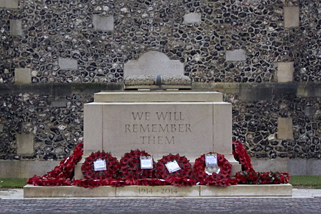 we will remember them plinth