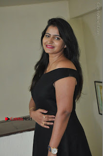 Telugu Actress Swathi Reddy Latest Stills in Black Gown  0040.JPG