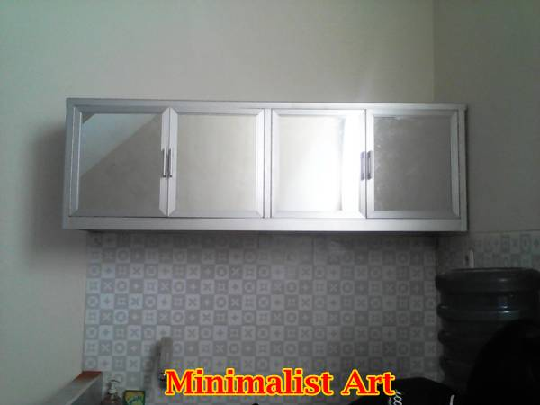 Kitchen Set Aluminium Coklat Model Kitchen Set Aluminium | Minimalist Art