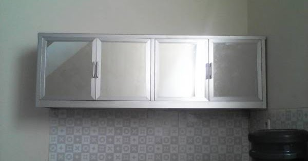 kanopi baja ringan model gantung kitchen set aluminium | minimalist art