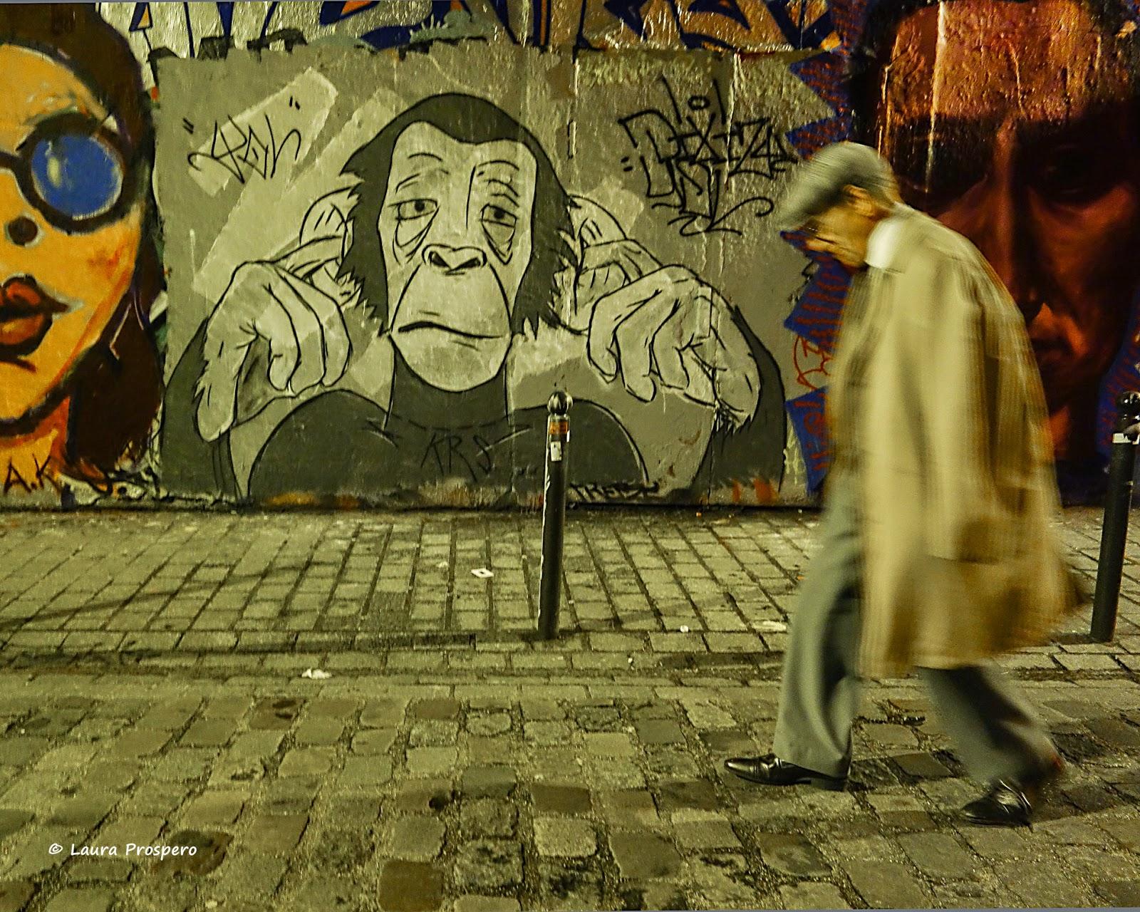 StreetArt, rue Dénoyez © Laura Próspero