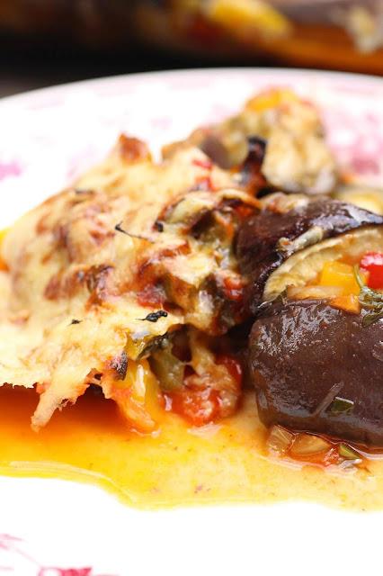 aubergines gratin creoles