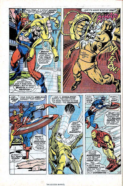 Avengers v1 #94 marvel comic book page art by Neal Adams