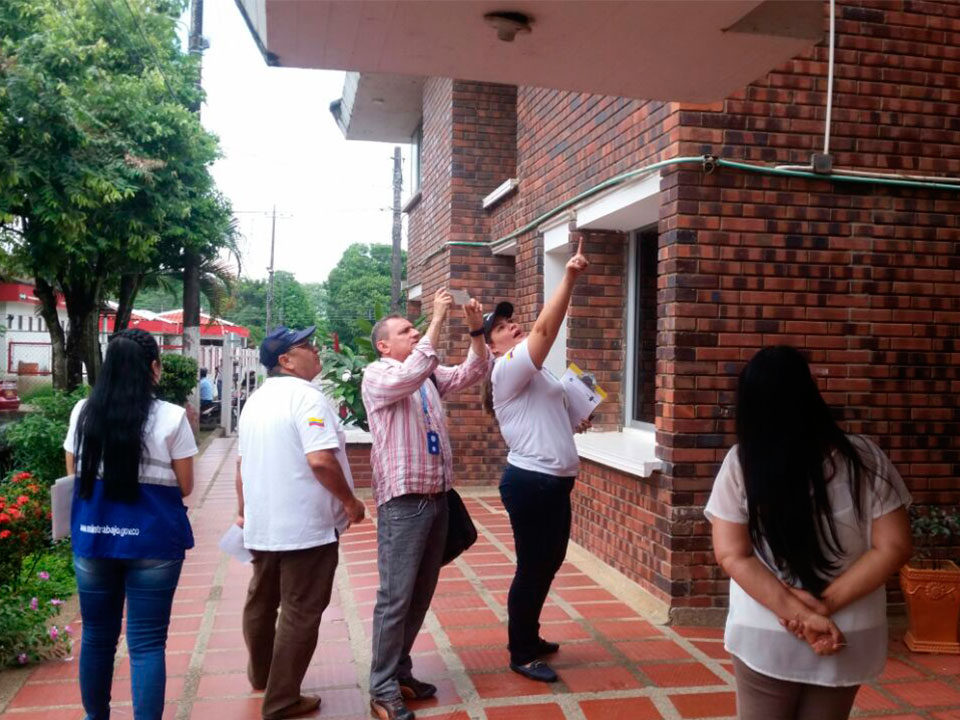 Mintrabajo constató deficiencias en sede de la Dian en Arauca