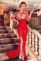 Rochie de seara sirena rosie (Atmosphere)