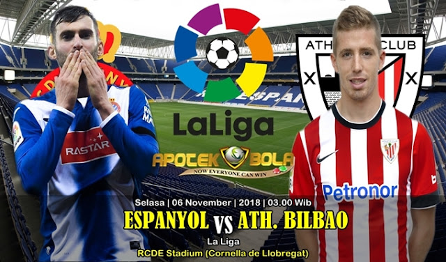 Prediksi Espanyol Vs Ath Bilbao 06 November 2018