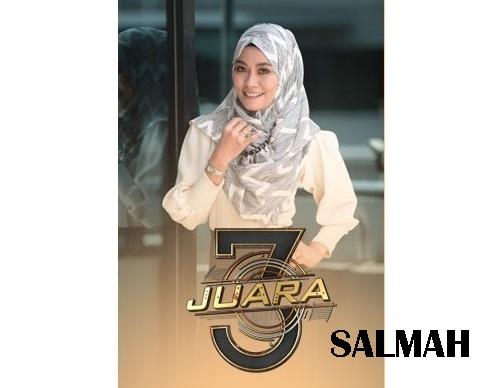 biodata Salmah Asis peserta 3 Juara TV3, biodata 3 Juara TV3 Salmah Asis, profile Salmah Asis 3 Juara TV3 2016, profil dan latar belakang Salmah Asis 3 Juara genre balada, gambar Salmah Asis 3 Juara TV3