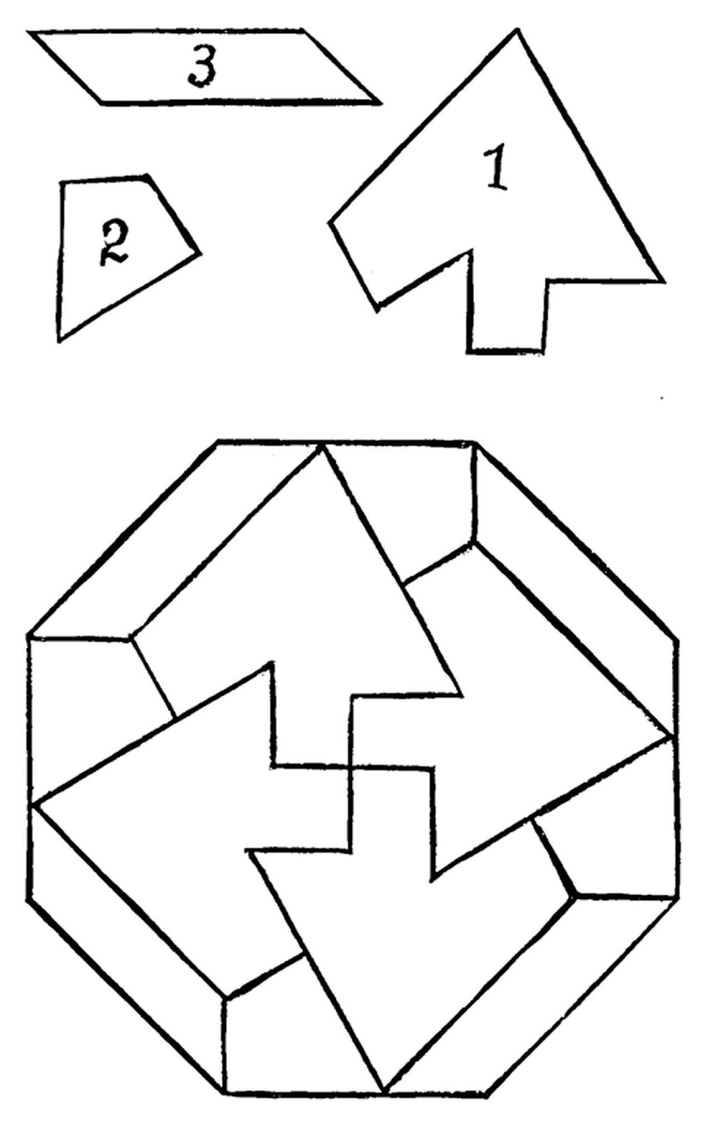 octagon puzzle how to