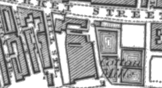 Fold Mill, OS map, 1847.