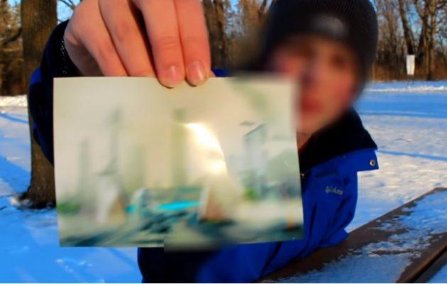 Άνδρας ισχυρίζεται ότι ταξίδεψε στο μέλλον -στο 6000- και έδειξε και… φωτογραφία από τότε (ΒΙΝΤΕΟ)