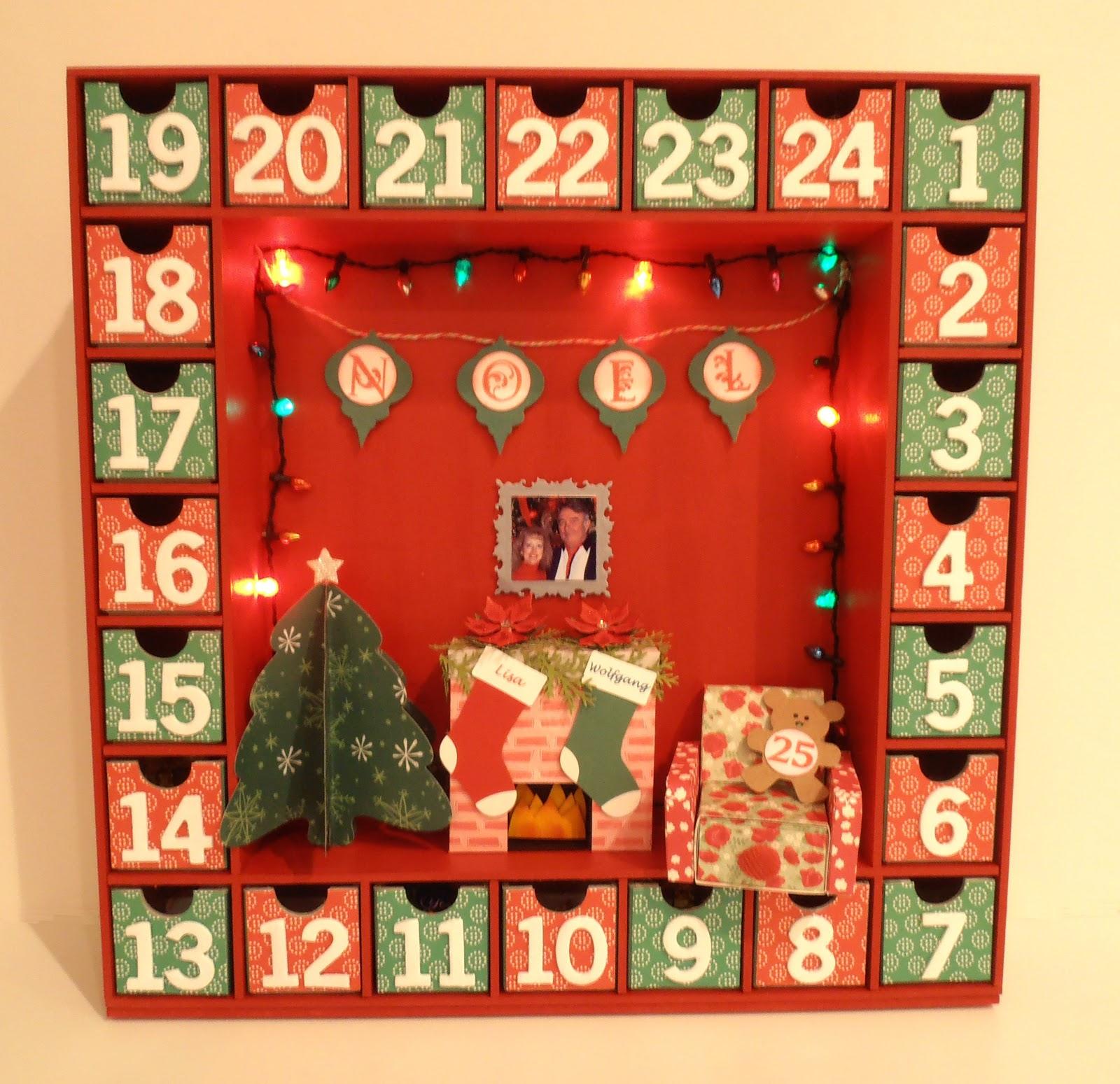 Advent Calendar Romantic Ideas : Crafting with princess lisa advent calendar