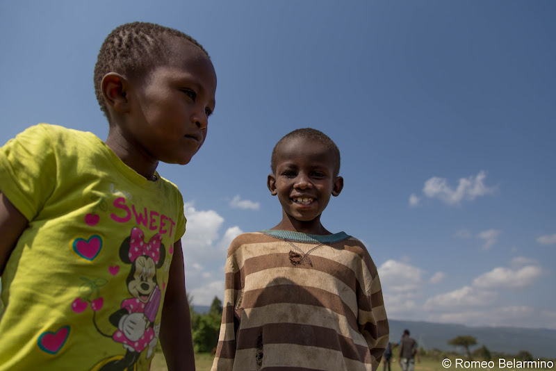 Village Children Volunteering in Kenya with Freedom Global