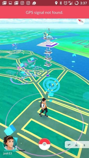 Trik Cara Mengatasi GPS Signal Not Found Pokemon Go Android iOS Koneksi Putus