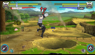 Naruto Shippuden Ultimate Ninja Heroes 3 Mod (Kakashi Anbu) PPSSPP