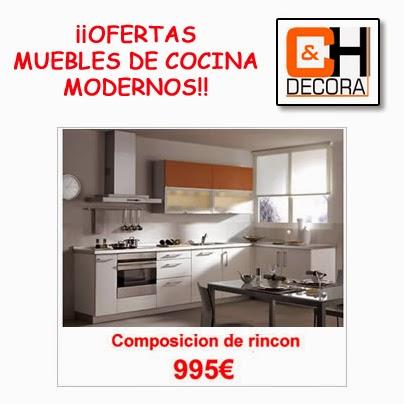 OFERTAS EN MUEBLES DE COCINA MODERNOS DE PUERTAS Y COCINAS MADRID ...