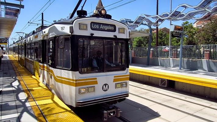 Transporte público em Los Angeles Metrô