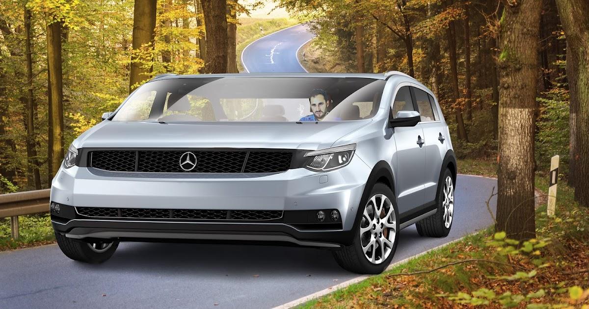 Erstmals breiter als lang: Mercedes stellt neuen SUV vor