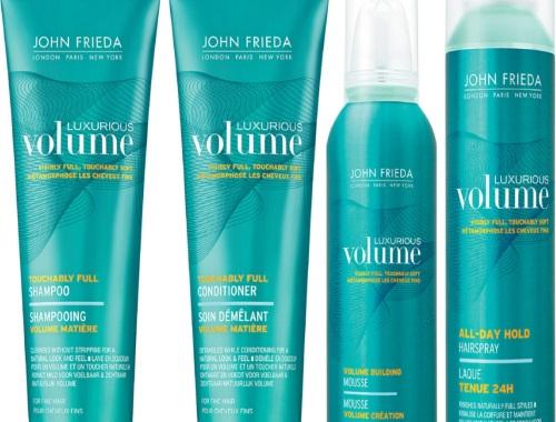 John Frieda Free Luxurious Volume Samples